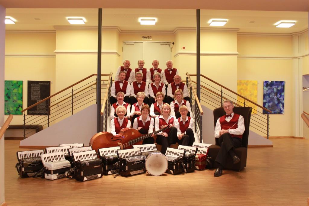 Lübecker Akkordeon Orchester Saubert